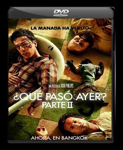¿Que Paso Ayer 2? Parte 2 - Dvdfull - Español Latino