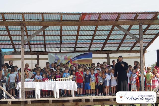 """26 August - Festivitatea de încheiere a Taberei """"Aripi de înger"""""""