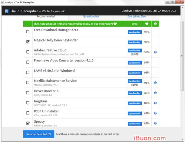 Tải và cài đặt phần mềm PC Decrapifier cho Windows + Hình 3