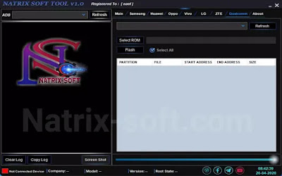 natrix soft tool-qualcomm