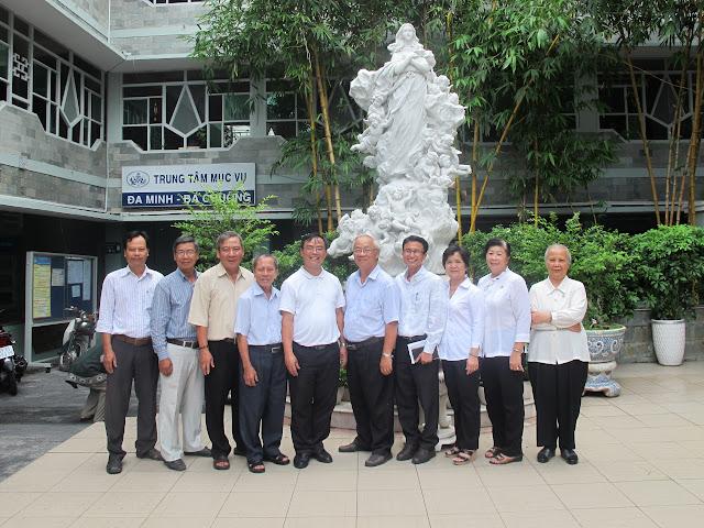 HĐGDĐMVN/GP. Sài Gòn: Viếng thăm huynh đệ