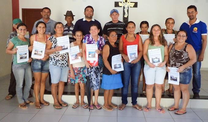 RN: Entrega de Termos de recebimento de Cisternas gera alegria no Sertão