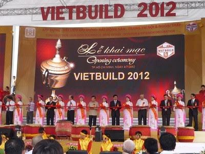 Khai mạc triển lãm quốc tế Vietbuild 2012 tại TP.HCM