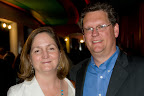Board member Katy Arbour and Mike Arbour