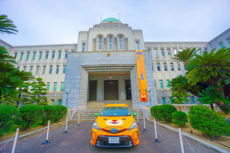 Ehime prefectural government's office Mican
