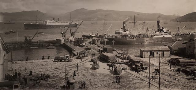 O Muelle de Ferro, actual Muelle Comercial do Porto de Vigo