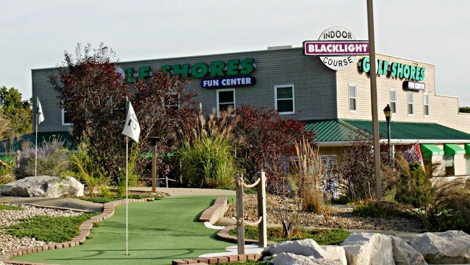 Play Mini-Golf at the Golf Shores Fun Center in Coryon, Indiana
