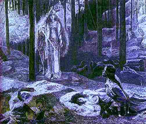 Valkyries, Asatru Gods And Heroes