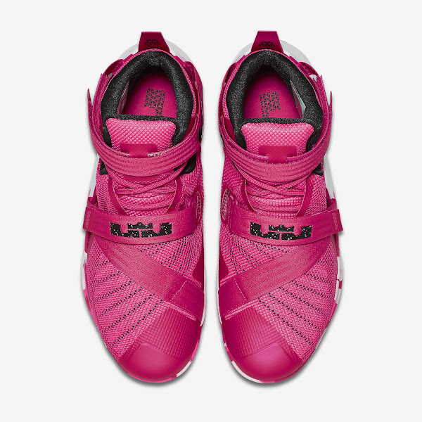 A Closer Look at Think Pink  LeBron Soldier 9