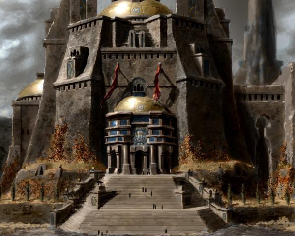 Great Gates Of Hall, Magick Lands 3