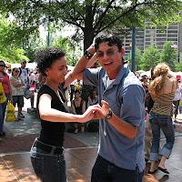 Tania, Manuel. Fiesta Atlanta. Centennial Olympic Park Atlanta. Fiesta Atlanta.
