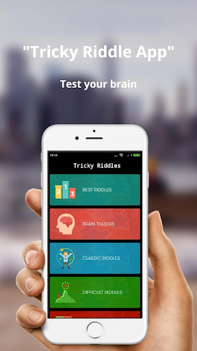 Tricky Riddles - Test your brain (Puzzles) by HirvaSoft (Google Play