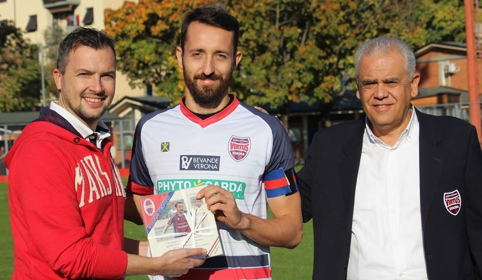 Serie D, invasione del Mestre al Gavagnin (0-0) e premio a Massimo Lechthaler.