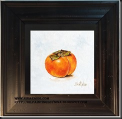 framed Bell Pepper  6x6