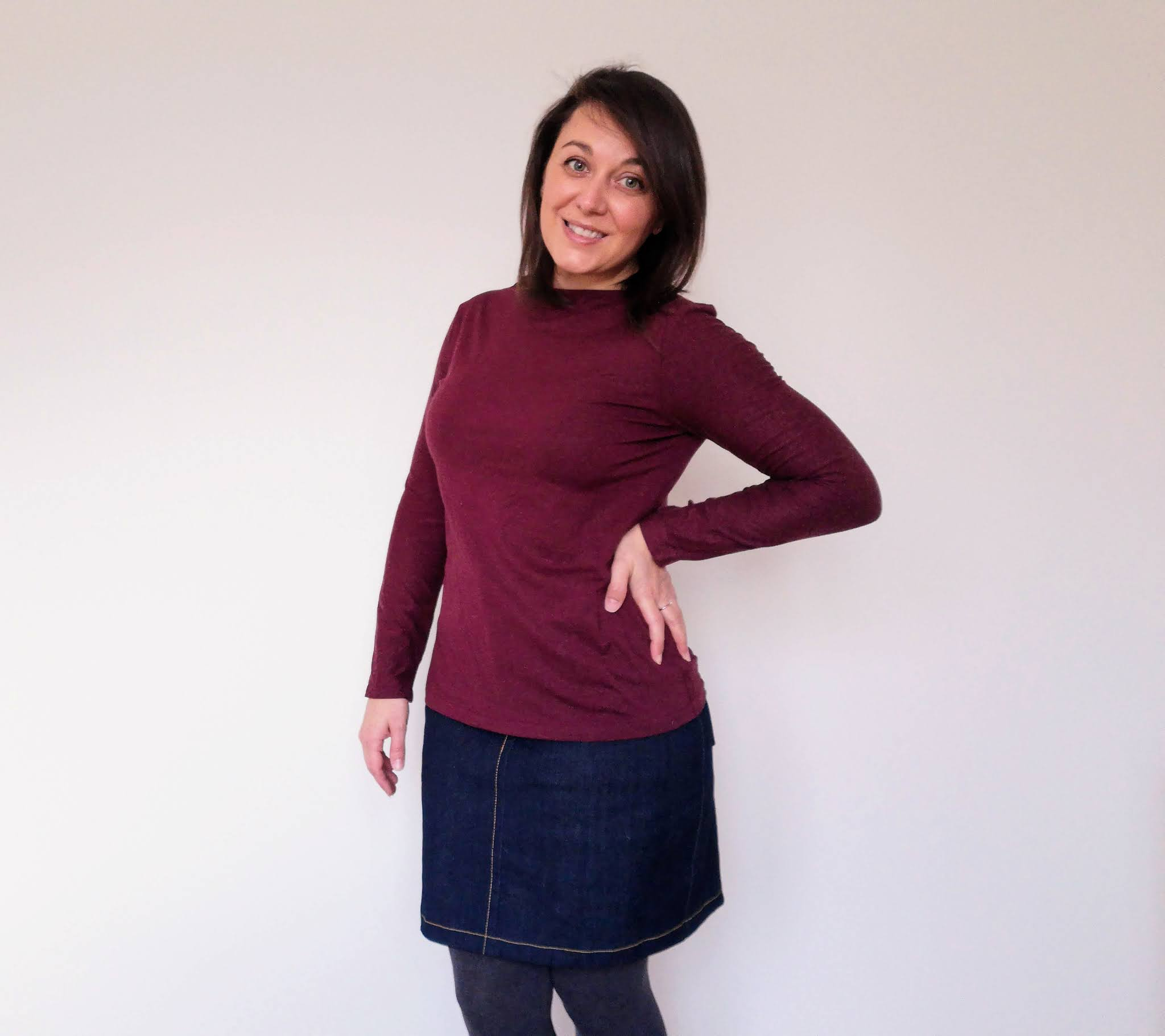 Tilly and the Buttons Freya sweater pattern review