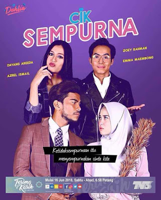 %255BUNSET%255D - Sinopsis Drama Cik Sempurna (slot Dahlia TV3)