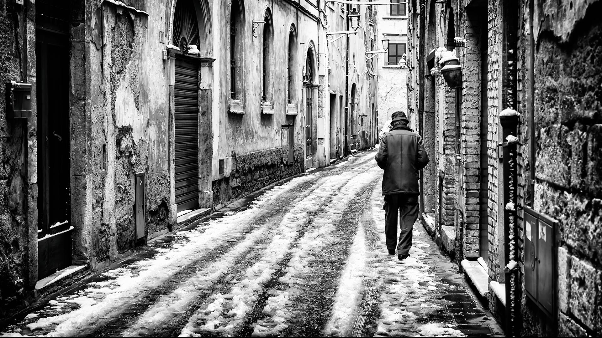 La neve sul borgo di utente cancellato