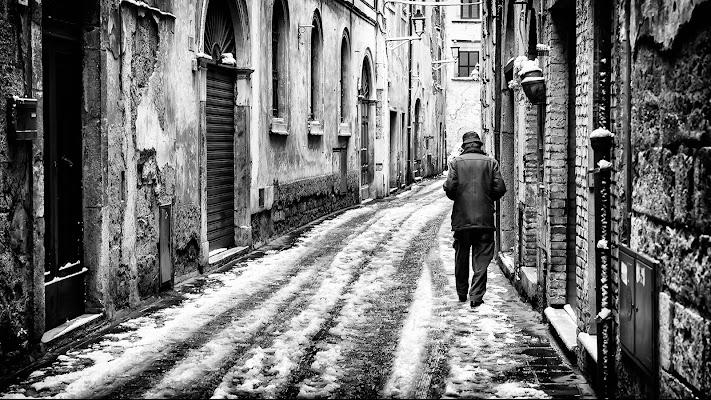 La neve sul borgo di Roberto Di Patrizi