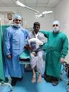 वैस्कुलर व प्लास्टिक सर्जरी करके मजदूर का बचाया गया हाथ