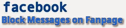 Hình 1- Chặn tin nhắn facebook