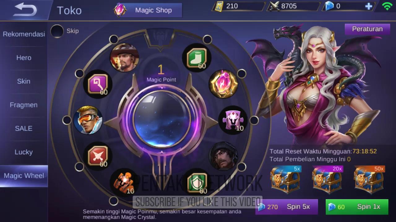 pihak Mobile Legends telah merilis setidaknya  Cara Mendapatkan Magic Crystal di Mobile Legends - Magic Wheel Event