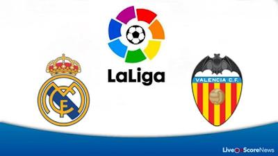 Real Madrid vs Valencia : La Liga Live Stream