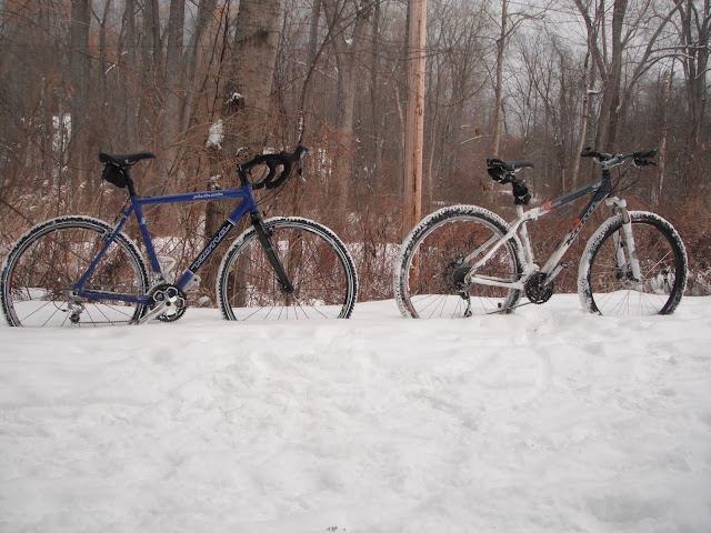 Kona Bikes in the Snow