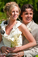 Bruidsreportage (Trouwfotograaf) - Foto van bruidspaar - 126