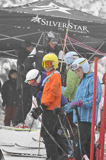 BC Winter Games K1 Ski Rodeo Run 1, Feb 25 2012 - Dickson Wong