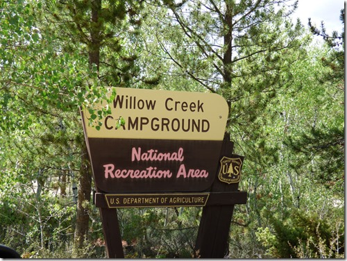 Willow Creek Campground, Colorado