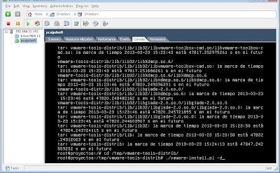 Instalar VMware Tools en MV con Linux Ubuntu Server