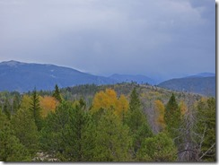 Fall has just started, Lake Granby, Colorado