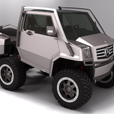 Mercedes-Benz Hexawheel Concept - Extreme Off-Road Vehicle!  The Hexawheel concept is a design study...