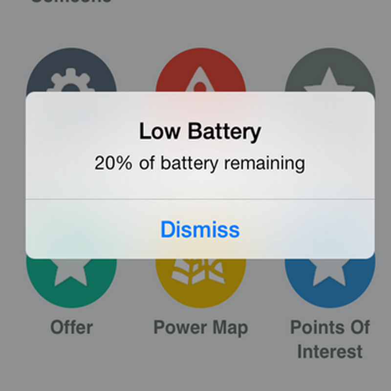 15 Easy Ways To Save iPhone's Battery Life [With iOS7] ~ The Mobile Spoon - Gil Bouhnick's Mobility Blog