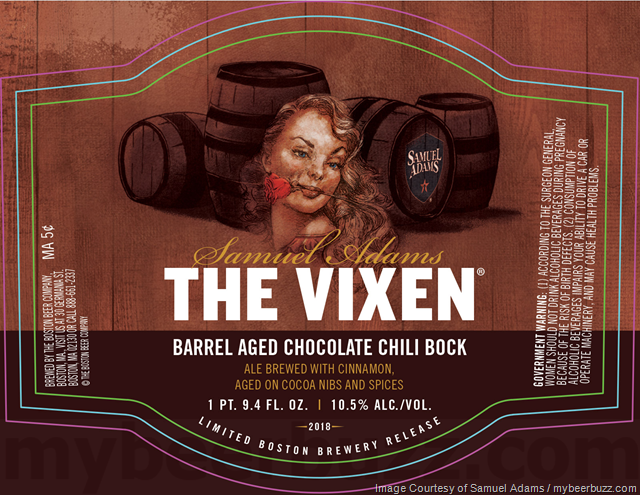 Samuel Adams Barrel-Aged The Vixen Returns