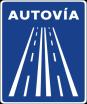 Circulación de bicis por autovías y autopistas