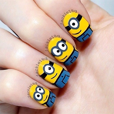 Minions Nails Designs & Ideas