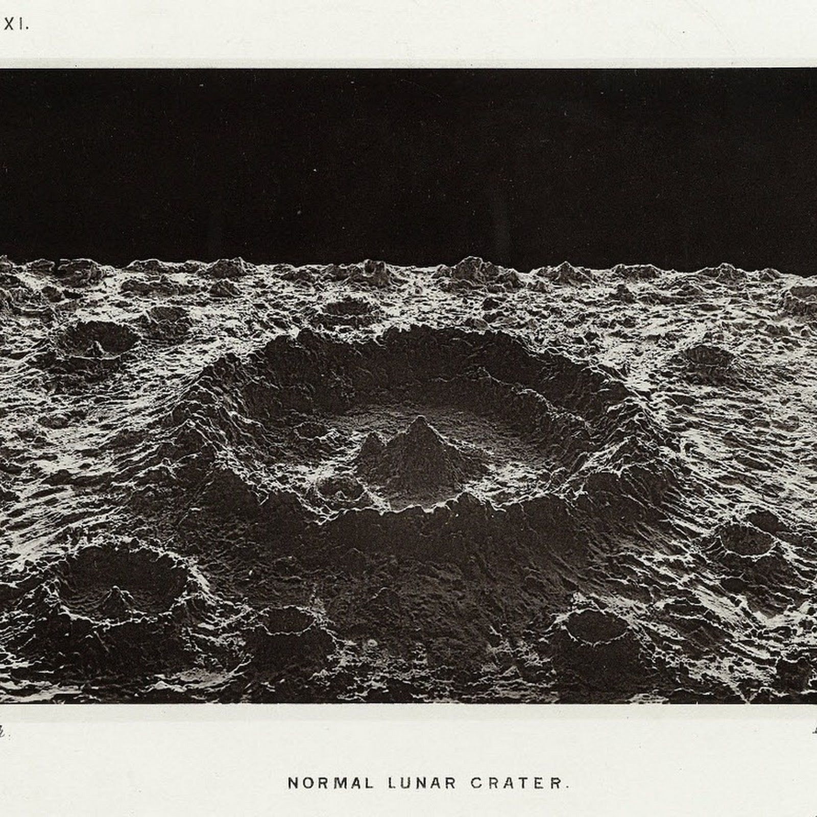 James Nasmyth's Fake Lunar Photographs From 1874
