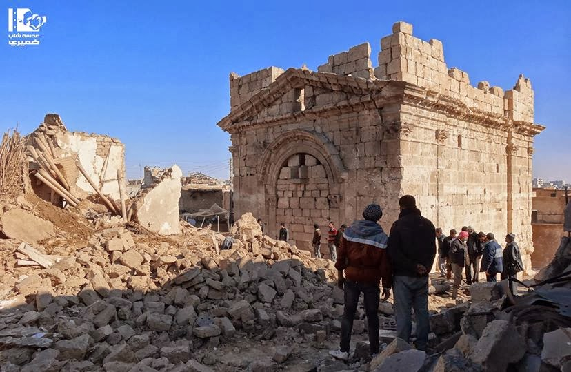 Near East: UN says illegal excavations in Syria are 'lethal'