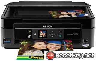 Reset Epson TX430 printer Waste Ink Pads Counter