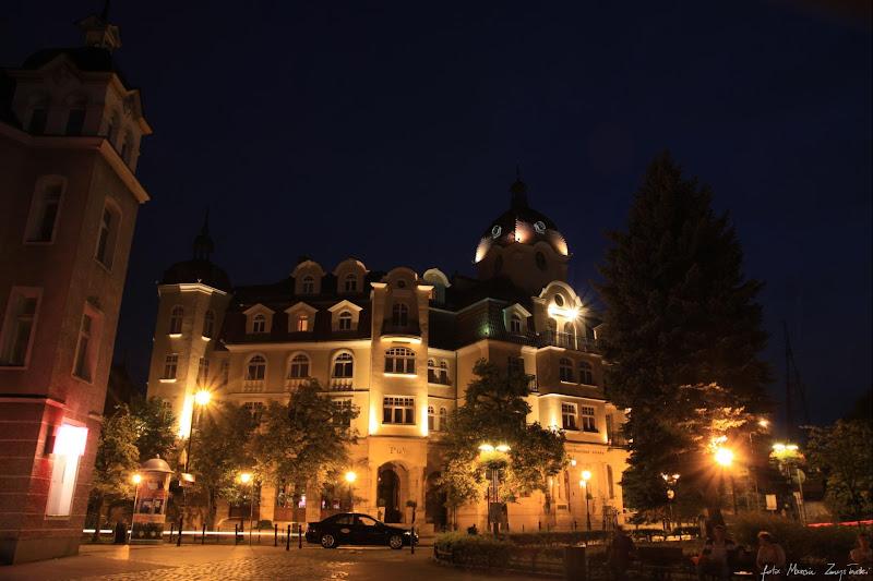 Sopot noca Budynki, budowle, architektura
