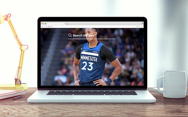 Jarrett Culver New Tab NBA Theme