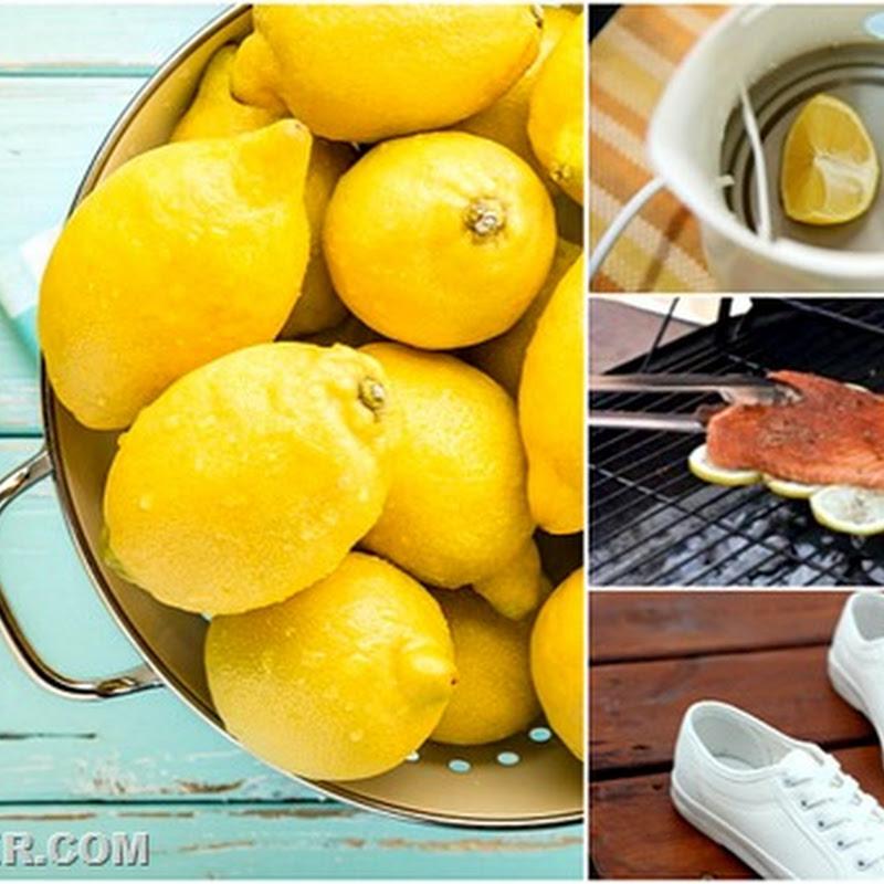 Необычное использование лимона в хозяйстве