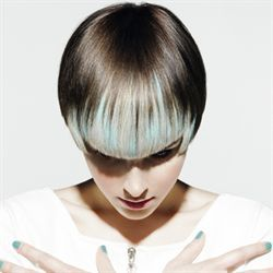 Hair:short hairstyles with different colors for 2018 13