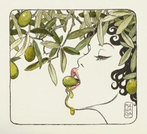 E' di Milo Manara l'illustrazione per il Bistrot dell'Ulivo 2014