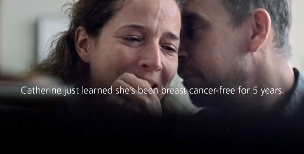 "Cundari Shares A Moment Of Joy With Us In CIBC Run for the Cure ""The Moment"" Ad"