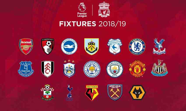 Chelsea FC Premier League Fixtures
