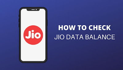 How to check Jio Data Balance and Validity?
