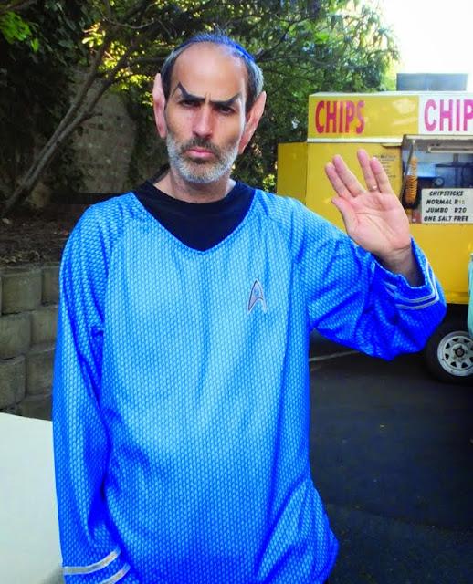 Purim and Star Trek