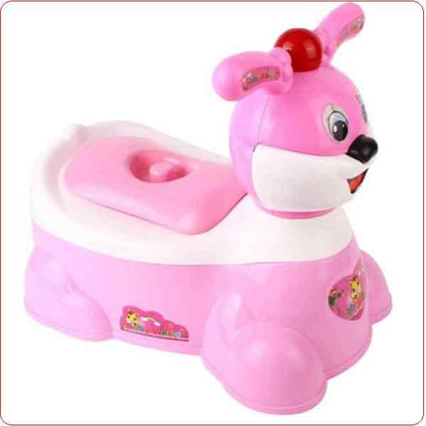 Bô vệ sinh trẻ em hình thú Song Long.